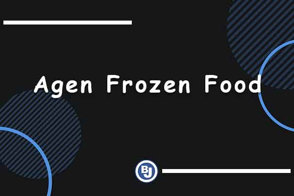 agen frozen food